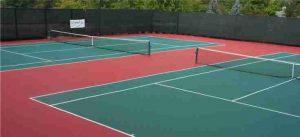 ahli lapangan tenis, tennis court, kontraktor lapangan tenis, ahli pembuat lapangan